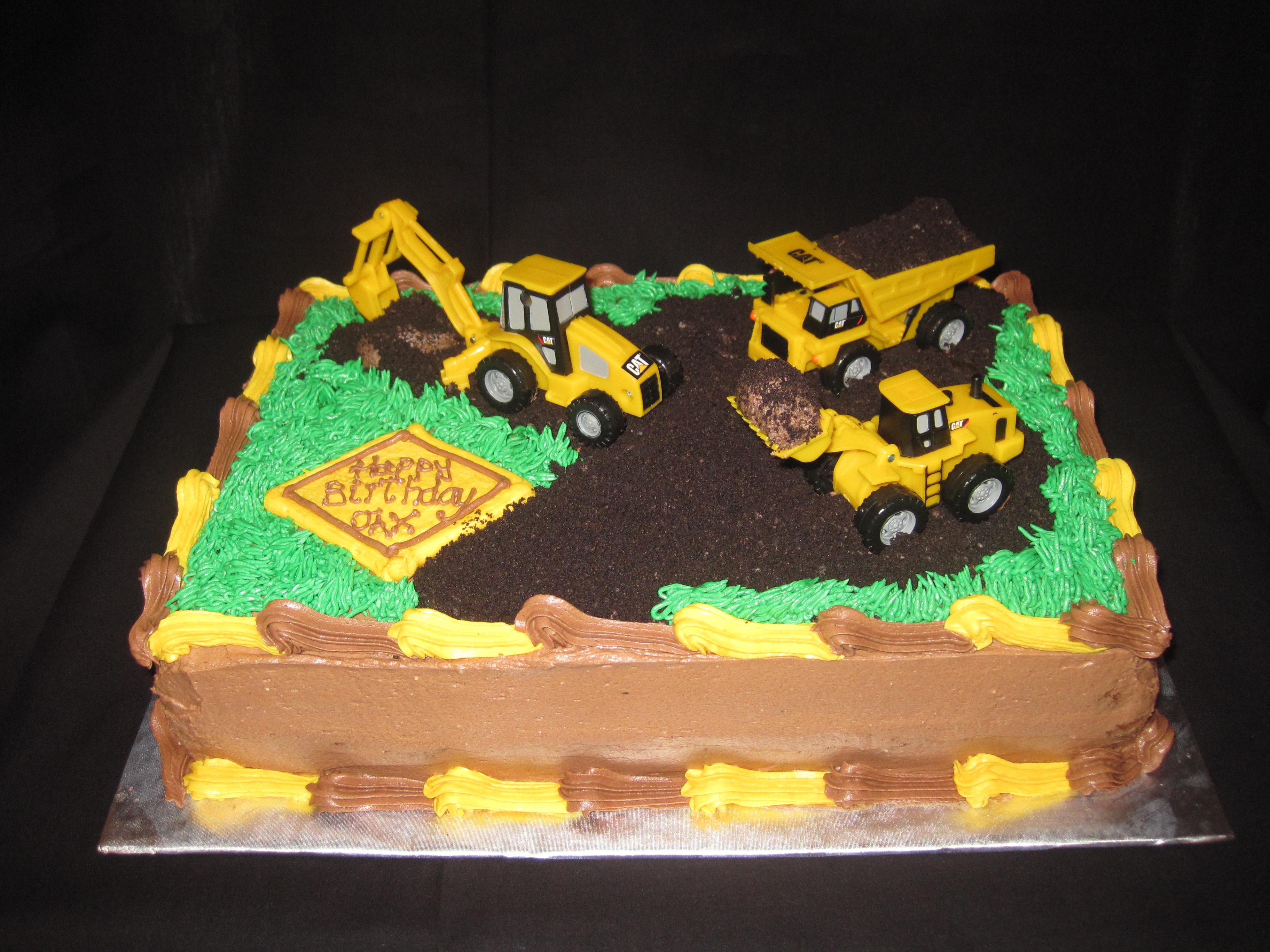 Birthday Cake Design Sites : Dump Trucks Cakes, Cakes Ideas, Birthday Parties, 1St ...